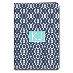 Trellis iPad Case - Navy