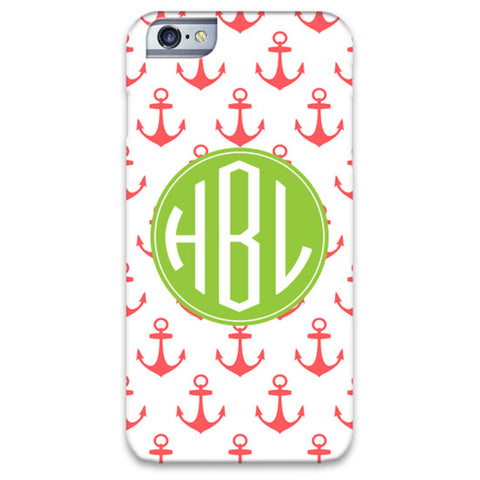Monogram iPhone 6/6 Plus Case - Anchors