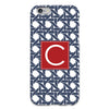 Basketweave iPhone Case - Navy