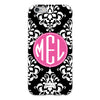 Damask iPhone Case - Black