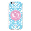 Damask iPhone Case - Sky