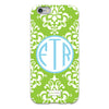 Damask iPhone Case - Lime