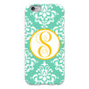 Damask iPhone Case - Mint