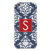 Damask iPhone Case - Navy