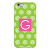 Dots iPhone Case - Lime