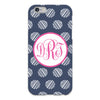 Dots iPhone Case - Navy