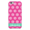 Dots iPhone Case - Pink
