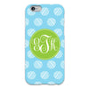 Dots iPhone Case - Sky