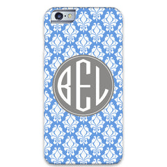 iKat Damask iPhone - Cornflower