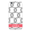 black knot pattern cell phone