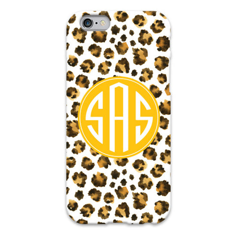 Monogram iPhone 7/7 Plus Case - Leopard Spots
