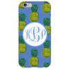 Pineapple iPhone Case - Cornflower