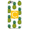 Pineapple iPhone Case - White