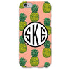 Pineapple iPhone Case - Peach