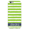 iPhone 6 Case - Lime Stripe