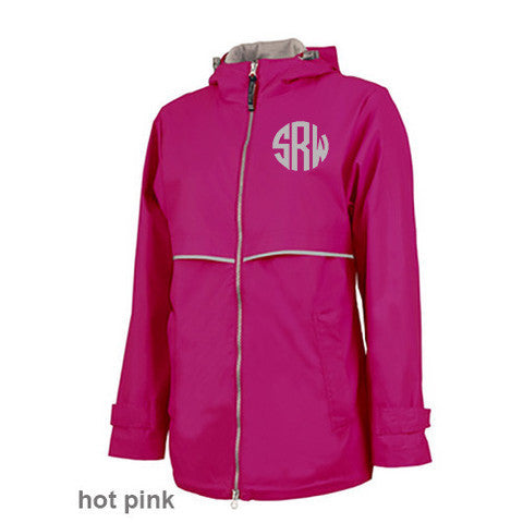 Monogram Rain Jacket - New Englander
