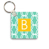 mint lattice keychain