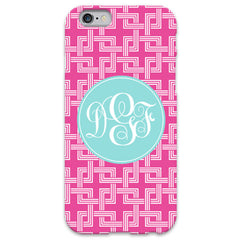 Hot Pink Knot iPhone Case