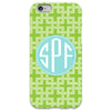 Lime Knot iPhone Case