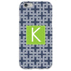 Navy Knot iPhone Case