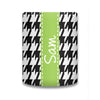 Houndstooth Koozie - Black