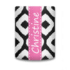 Monogram Koozie - Black