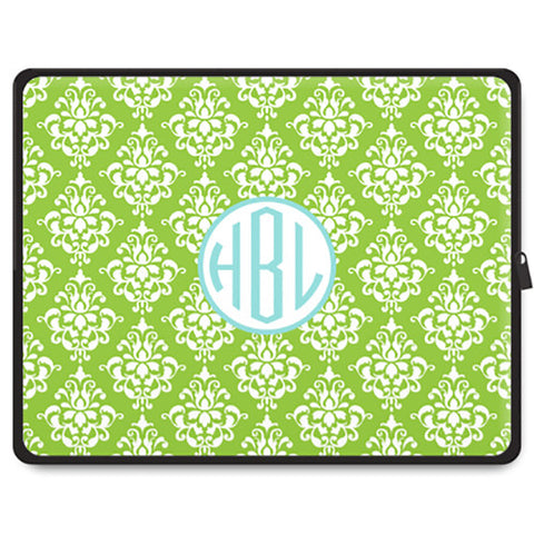 Monogram Tablet Sleeve - Damask