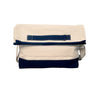 Monogram Laptop Case -Navy