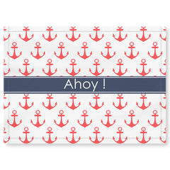 Anchor Placemat - Coral