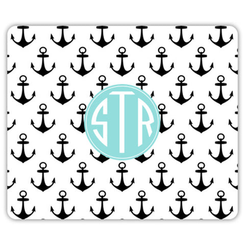 Monogram Mouse Pad - Anchors