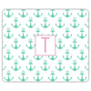 Anchors Mouse Pad - Mint