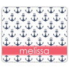 Anchors Mouse Pad - Navy