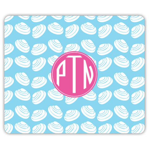 Monogram Mouse Pad - Clams