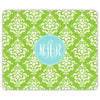 Damask Mouse Pad - Lime
