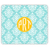 Damask Mouse Pad - Mint
