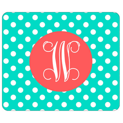 Monogram Mouse Pad - Dot