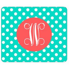 mint dot mouse pad