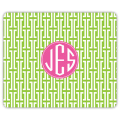 Maze Mouse Pad - Lime