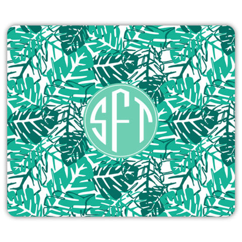 Monogram Mouse Pad - Palms