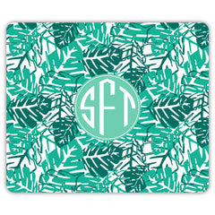 Palms Mouse Pad - Green