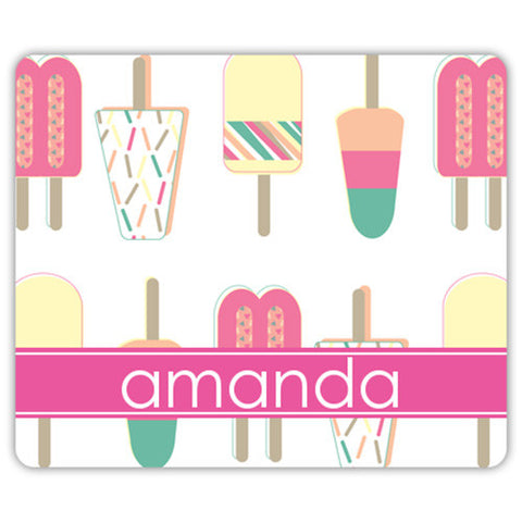 Monogram Mouse Pad - Popsicle
