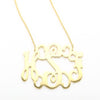 Gold Filigree Necklace that is XL