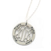 sterling silver mothers necklace