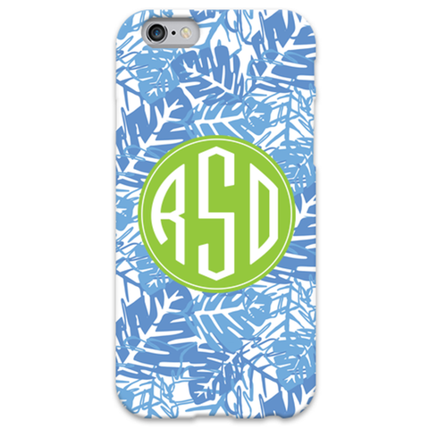 Monogram iPhone 5/5S Case - Palms