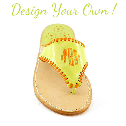 Classic Monogram Palm Beach Sandals