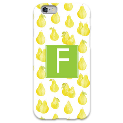 Monogram iPhone 5/5S Case - Pears