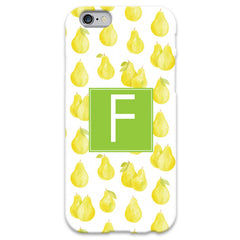 Monogram iPhone 6/6 Plus Case - Pears
