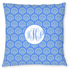 Shells Pillow - Cornflower