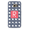 Samsung Phone Case - Basketweave NAvy