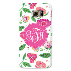 Samsung Phone Case - English Garden White